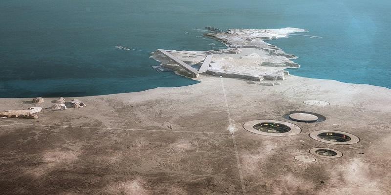 بهترین طرح مفهومی هتل: مقصد سونای زلال؛ یک هتل پایه ریزی شده در قطر. طراحی این سازه توسط Oppenheim Architecture صورت گرفته است.