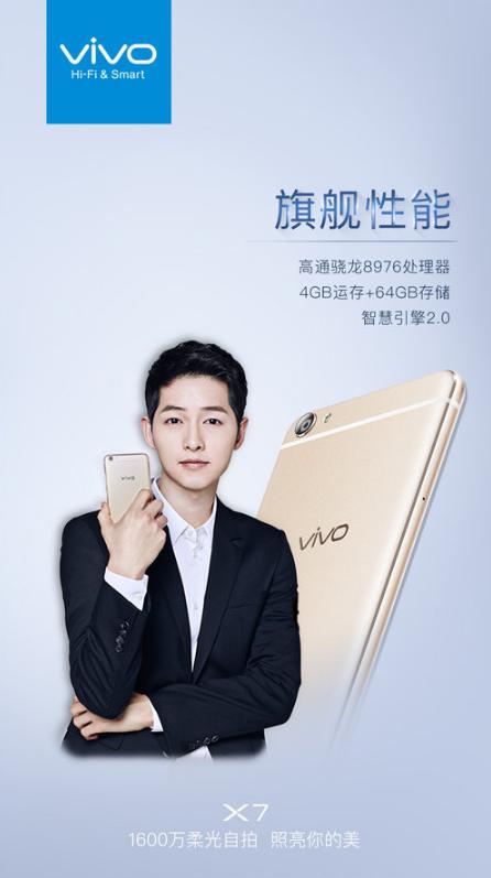 فاش شدن مشخصات سخت افزاری گوشی Vivo X7