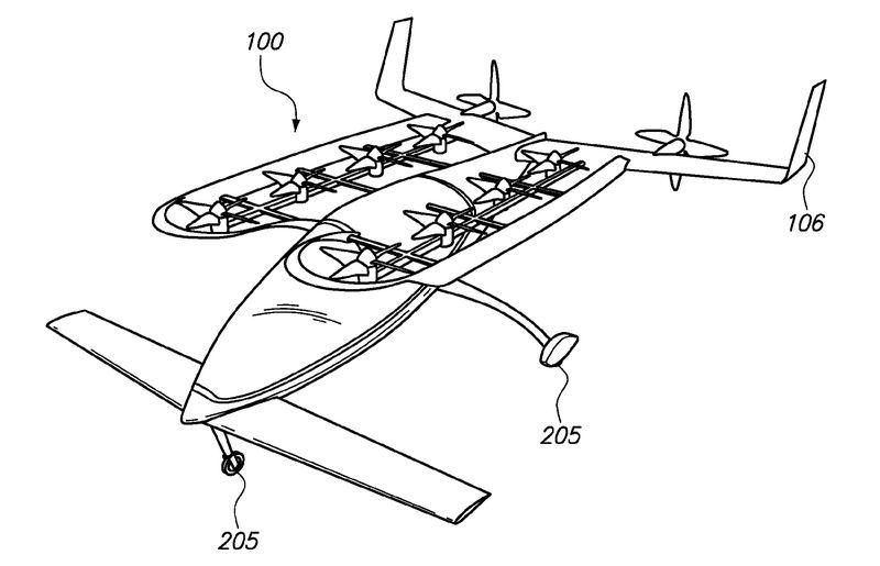 """پتنت شناخته شده قبلی که توسط Zee.Aero به ثبت رسیده است یک وسیله ای را نشان می دهد که می توان آن را این گونه شرح داد، یک بدنه نازک مرکزی با یک ردیف دوقلو از ملخ های هواپیما. این پتنت که در سال 2012 ثبت شده است، خاطر نشان می کند که این هواپیما قابلیت پرواز و فرود به صورت عمودی (VTOL) را دارا بوده و بدین شرح توصیف می شود که """"یک هواپیمای ایمن، بی صدا، با کنترل آسان، مناسب و جمع و جور"""". شاید به طور قطع نتوان نام این وسیله پرنده را خودروی پرنده نامید، اما مطمئنا چشم اندازی از صنعت حمل و نقل هوایی شخصی است."""