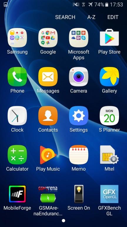 تصاویری از نمای کاربری TouchWiz گوشی سامسونگ گلکسی J7 2016 - تصویر سوم