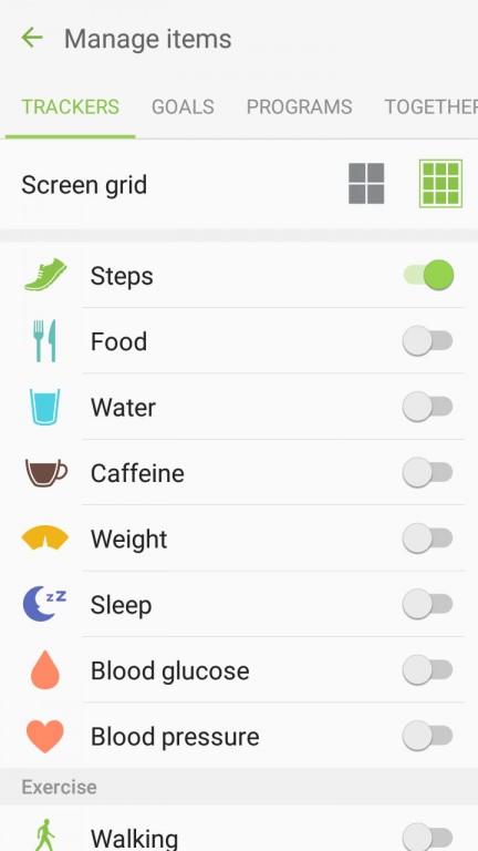 با این اوصاف این اپلیکیشن هنوز قادر به ثبت و ضبط مقدار پیاده روی/دویدن/دوچرخه سواری شما بوده و همچنین می توانید مقدار آب و قهوه مصرفی خود را نیز به صورت دستی به آن وارد کنید.