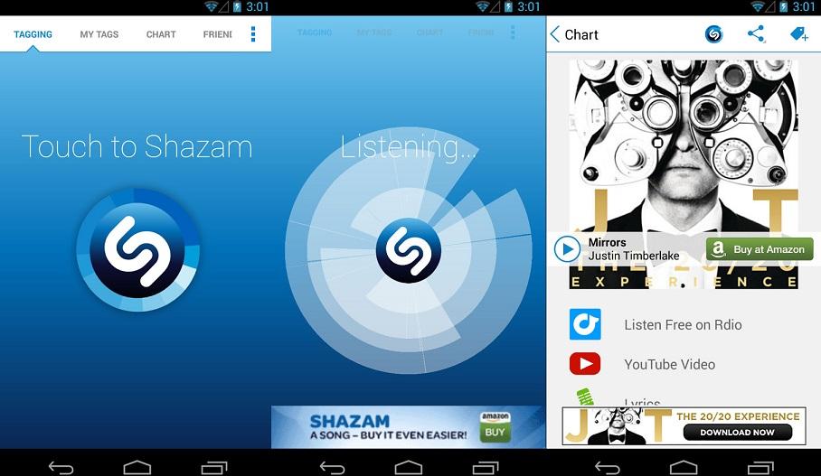 Auto Shazam؛ حالت جدید اپلیکیشن شزم برای اندروید
