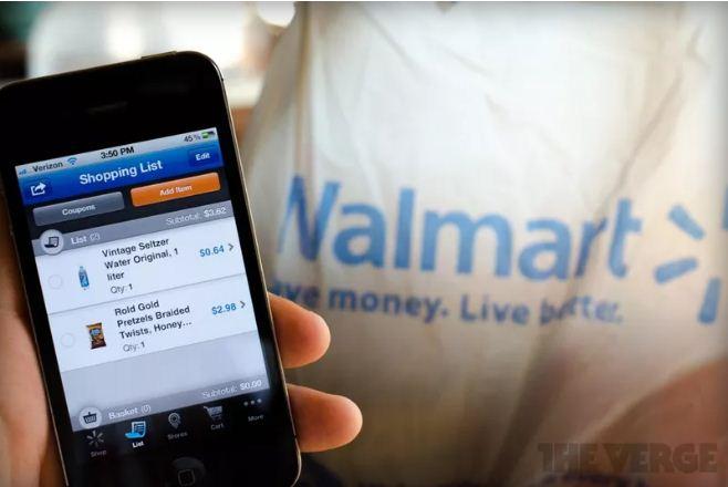 گسترش استفاده از والمارت در بسیاری از فروشگاه های ایالات متحده
