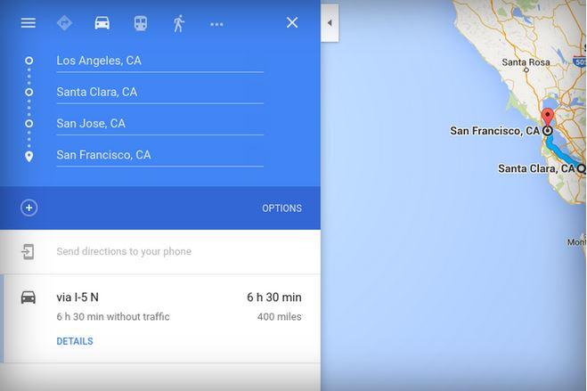 پشتیبانی از چند مقصد به اپلیکیشن گوگل مپ در سیستم عامل iOS اضافه شد