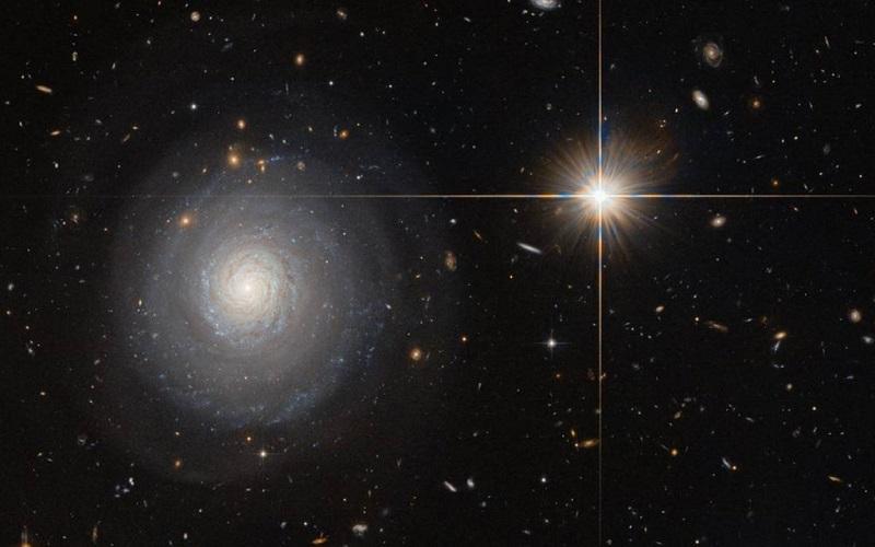 MCG+07-33-027 یک کهکشان با ستارگان انفجاری است؛ به بیان دیگر، تعدد شکل گیری ستاره ها در این کهکشان بسیار بالاست.