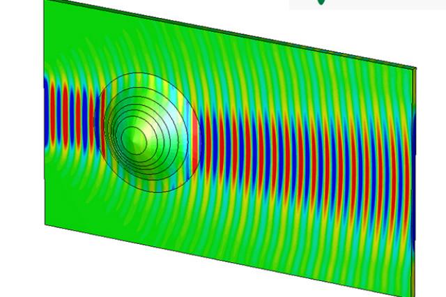 این متوسط نانوکامپوزیت از لایه های مختلفی برخوردار است که بسته به موقعیت آنها، با ویژگی های الکتریکی متفاوت همراه می شوند. آنها به شکل کاملا موثری می توانند اشیاء خمیده را تحت فرکانس های مشخص، به شکل کاملا مسطح نشان دهند.