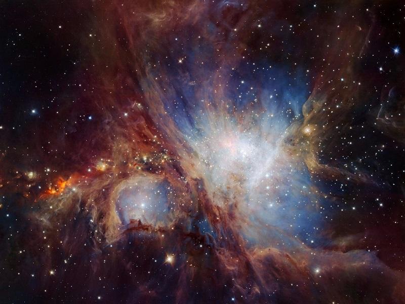 ثبت جزئی ترین تصویر از ابر سحابی اوریون