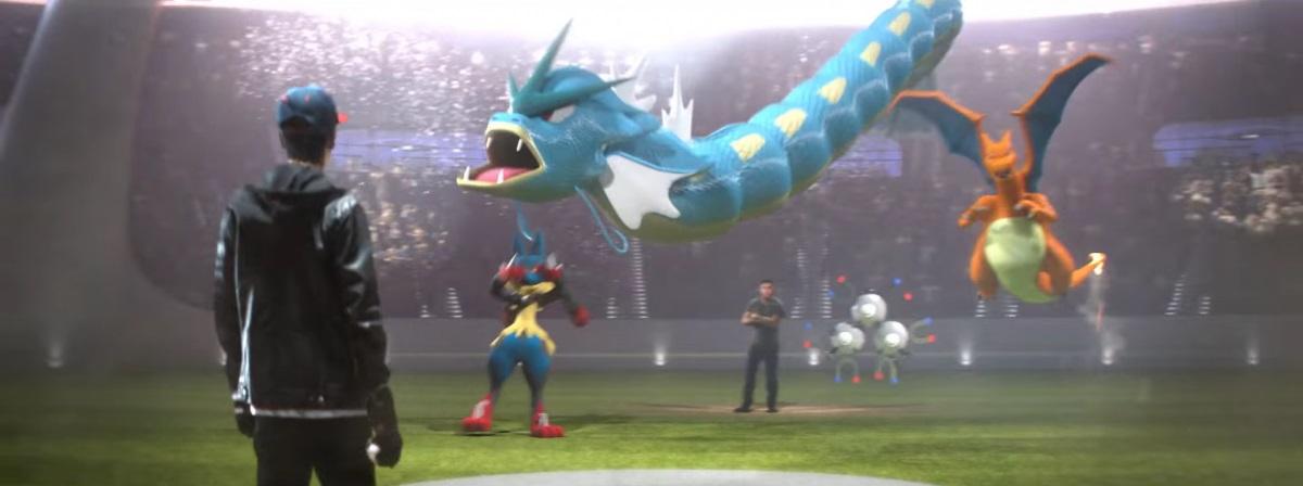 جهان برای اولین بار در تبلیغات سوپر بال در ژانویه 2016 از وجود بازی پوکمون گو با خبر شد؛ این تبلیغات به منظور بزرگداشت بیستمین سال حضور نسخه ی اصلی بازی های پوکمون برای Nintendo Game boy طراحی شده بود.