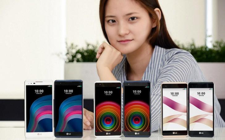 خودنمایی گوشی های میان رده ال جی X5 و ال جی Skin