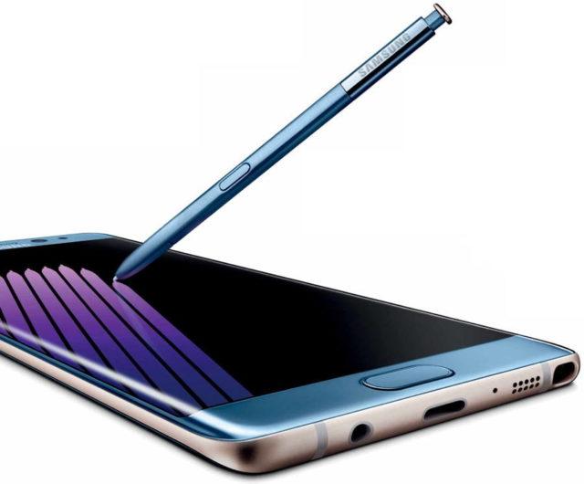 رندر جدید گلکسی نوت 7 به همراه قلم S Pen