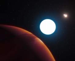 کشف سیاره ی جدید که به دور سه خورشید می گردد
