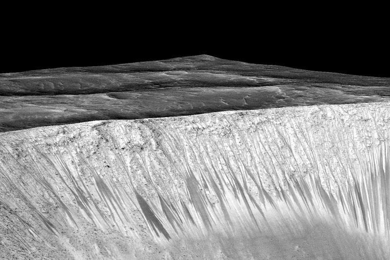 اهمیت وجود آب در مریخ کاهش یافته است