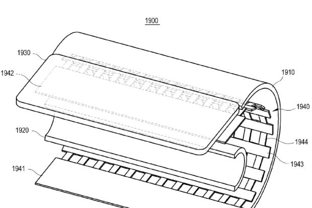 سامسونگ از پتنت بازوی مصنوعی برای گوشی های منعطف استفاده می کند