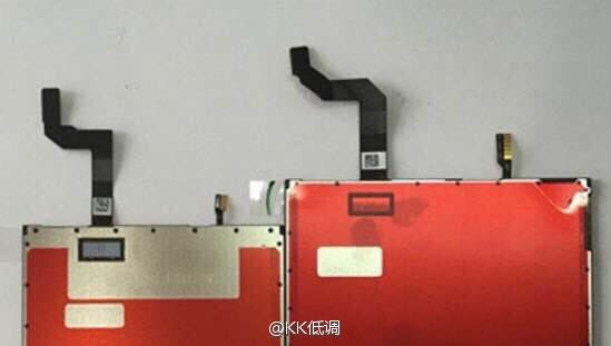 تصاویری از پنل صفحه نمایش گوشی آیفون 7 و آیفون 7 پلاس منتشر شد