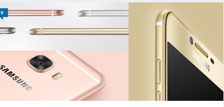 سامسونگ گلکسی C9 نمایشگر 5.7 اینچی خواهد داشت