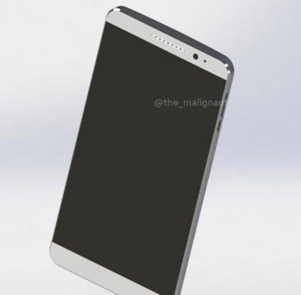 این رندرها همچنین ترکیب رنگ دیگری را به نمایش گذاشته اند. قاب پشتی دستگاه به رنگ خاکستری تیره است اما نمای روبرویی گوشی هواوی میت 9 با رنگ سفید طراحی شده است.