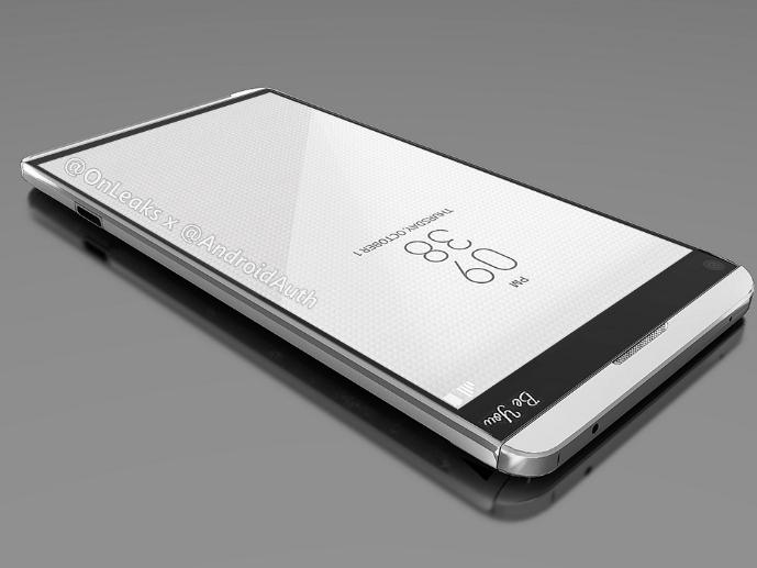 مشخصات فاش شده از گوشی ال جی V20