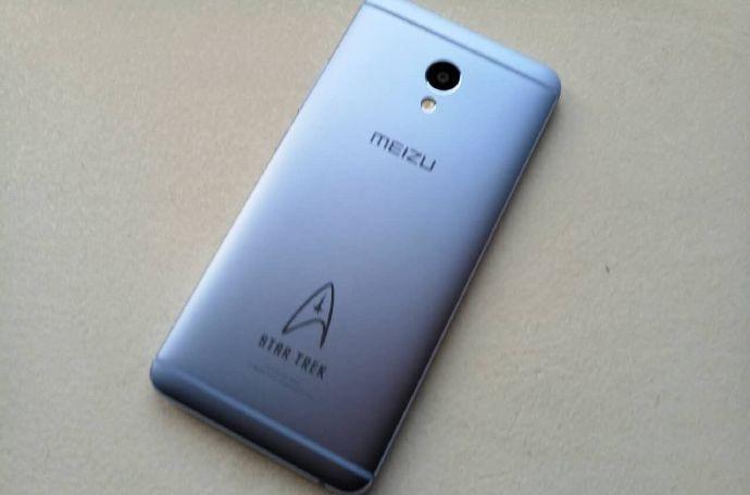 تصاویری از گوشی Meizu M3E Star Trek Edition در فضای آنلاین خودنمایی کرد