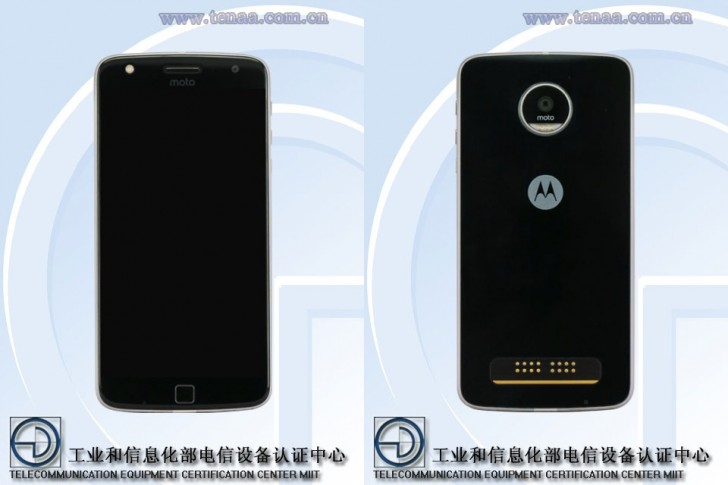 گوشی موتورولا موتو Z Play با نمایشگر 5.5 اینچی تاییدیه ی TENAA را دریافت کرد