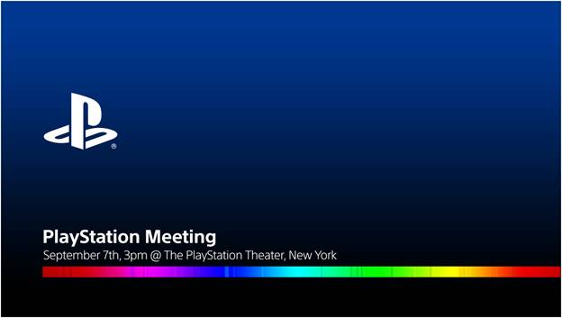 """اعضای رسانه اخیرا دعوتنامه ی حضور در """"جلسه ی پلی استیشن"""" را دریافت کرده اند که برای 7 سپتامبر برنامه ریزی شده است. این رویداد در تئاتر پلی استیشن در شهر نیویورک برگزار خواهد شد"""