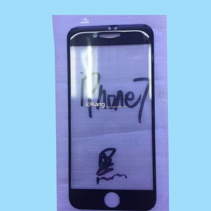 تصویری از پنل گوشی اپل آیفون 7 در فضای اینترنت منتشر شد