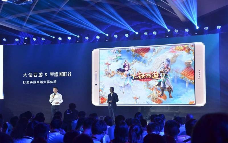 گوشی آنر نوت 8 با نمایشگر 6.6 اینچی کواد اچ دی در چین رونمایی شد