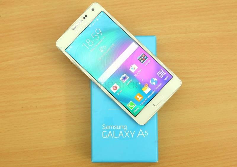 اولین نسل گوشی گلکسی A5 اندروید 6 مارشمالو را دریافت خواهد کرد