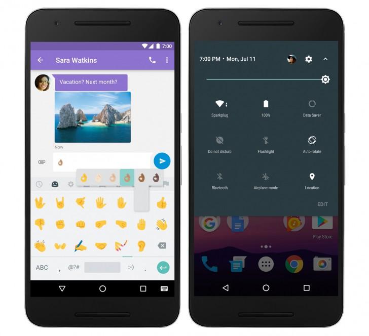 اندروید نوقا برای سامسونگ و HTC . با اینکه تی-موبایل اعلام کرده که پرچمداران سامسونگ به جدیدترین نسخه اندروید آپدیت خواهند شد اما زمان عرضه آن هنوز مشخص نشده و احتمال دارد عرضه این آپدیت 2 یا 3 ماه دیگر صورت پذیرد.