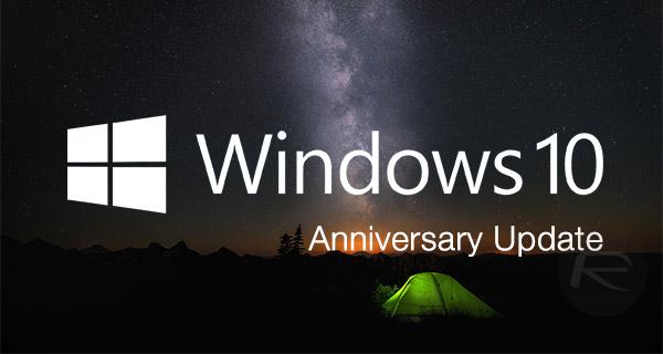 مایکروسافت از امروز آپدیت سالانه ی ویندوز 10 را منتشر می کند