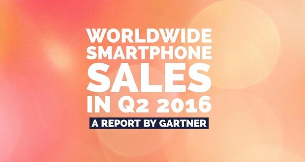 گزارش فروش گوشی های هوشمند در دومین کوارتر سال 2016 منتشر شد