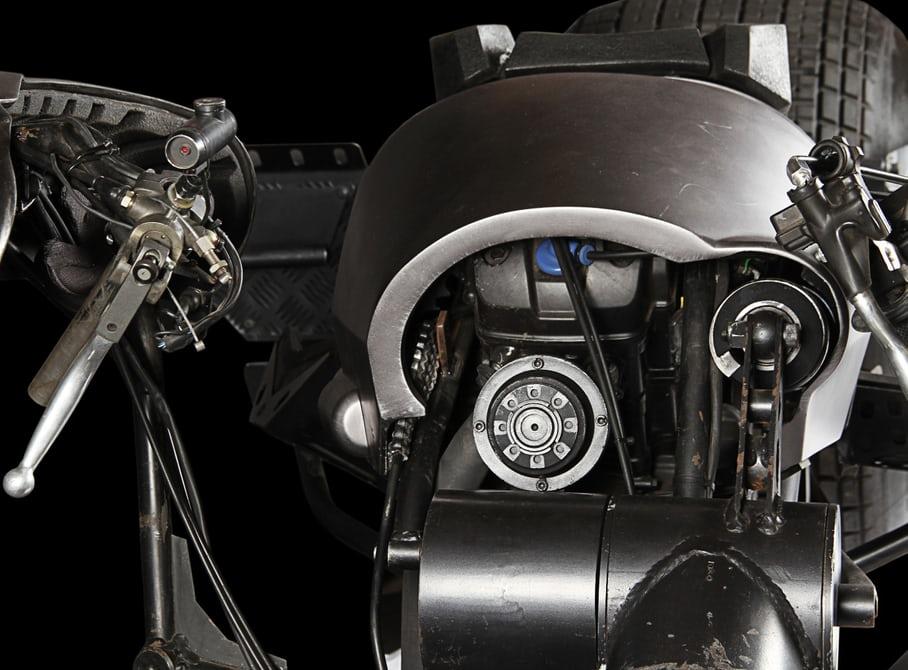 موتورسیکلت بتمن بدون باتری، مخزن سوخت و دریچه گاز به فروش می رسد.