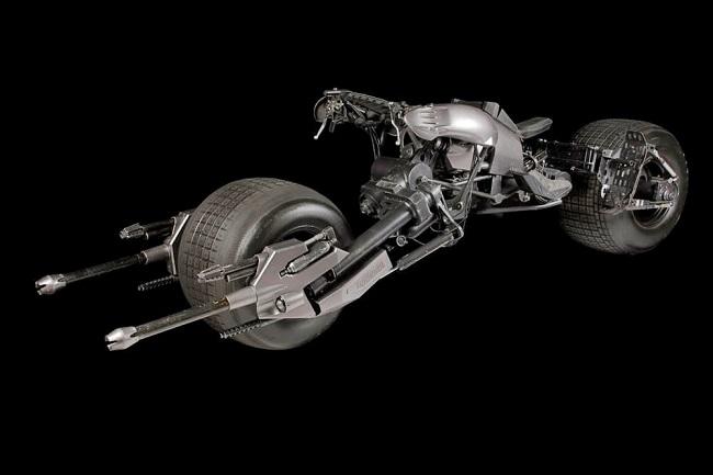 موتورسیکلت بتمن به حراج گذاشته می شود