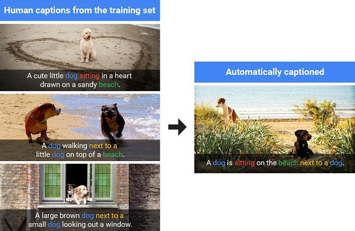 هوش مصنوعی گوگل پس از بهره بردن از توضیحات نوشته شده توسط انسان و آموزش با آن، قادر به توصیف تصاویری بود که پیش از آن هرگز مشاهده نکرده بود.