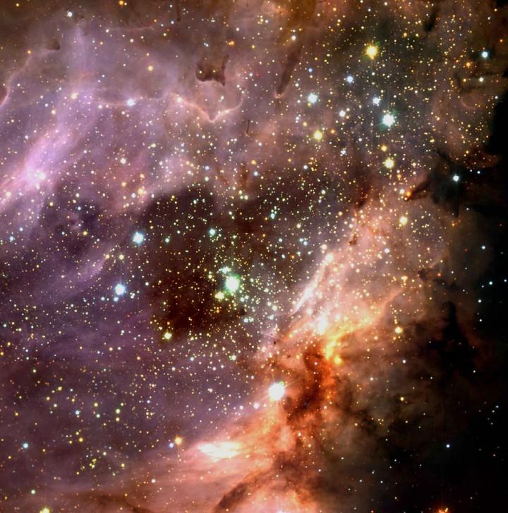 تلسکوپ ALMA نحوه شکل گیری کهکشان ها را توضیح می دهد