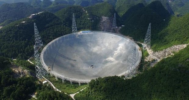 بزرگترین رادیو تلسکوپ جهان در چین راه اندازی شد