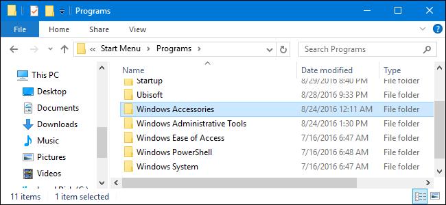 ساماندهی، ویرایش، حذف و یا اضافه کردن آیتم جدید به لیست برنامه های کاربردی