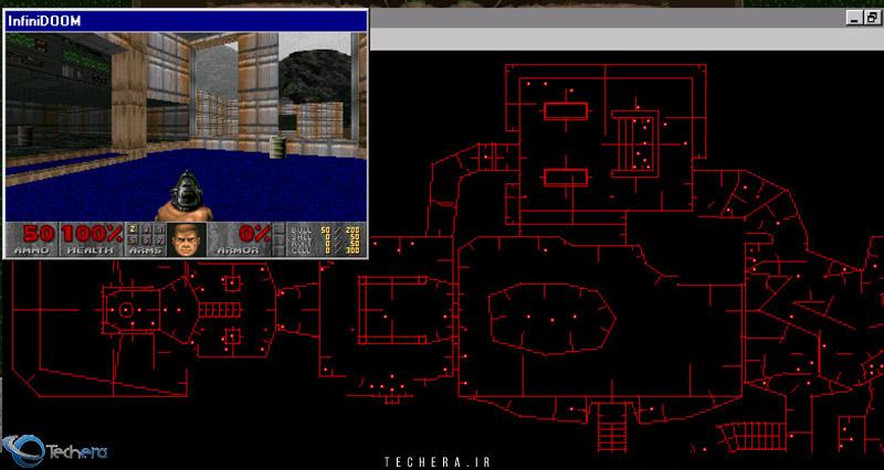 نرم افزار ساخت نقشه برای بازی DOOM