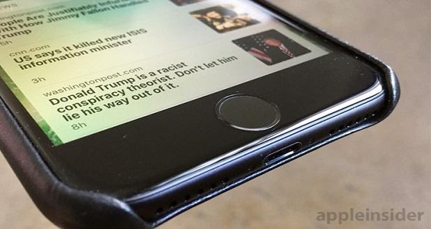 در صورت خراب شدن دکمه هوم خازنی آیفون 7 ، از دکمه ی مجازی استفاده کنید!