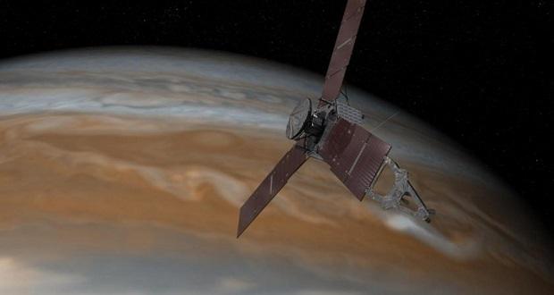 مانور فضاپیمای جونو به دلیل اشکال در موتور اصلی به زمان دیگری موکول شد