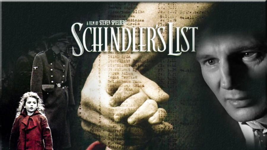 فهرست شیندلر اثر استیون اسپیلبرگ، از جمله آثار شاخص سینمای جنگ جهان