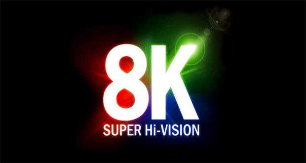 تلویزیون 8k شرکت NHK بسیار بزرگ، باریک و زیباست!