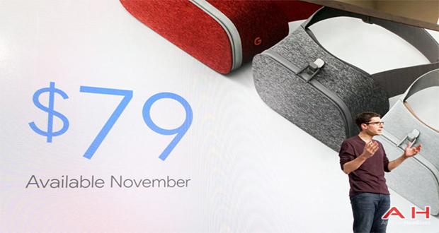 هدست واقعیت مجازی گوگل با نام Daydream View رسما رونمایی شد.
