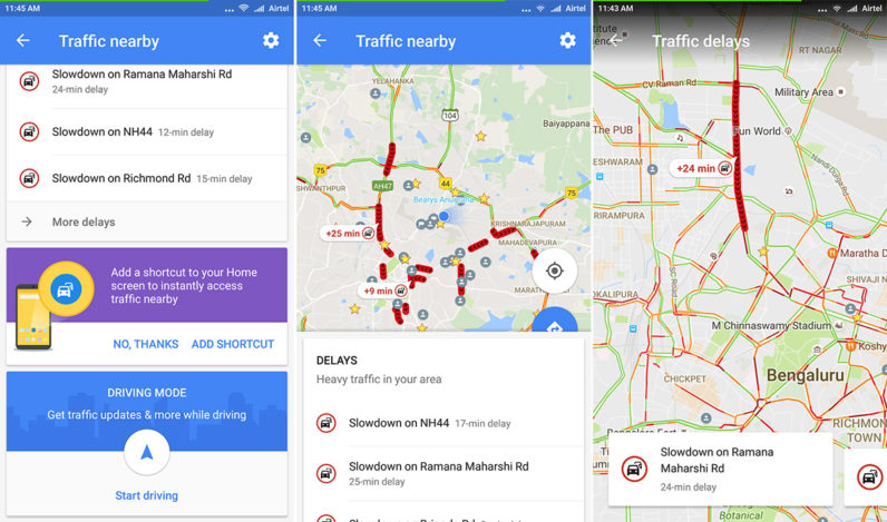 google-maps-traffic-nearby-screenshots
