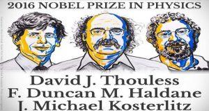 نوبل فیزیک به سه دانشمند بریتانیایی رسید