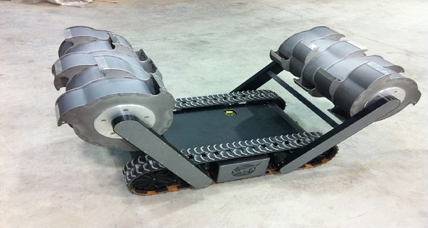 ربات حفار RASSOR، کاوشگر آینده سیاره سرخ