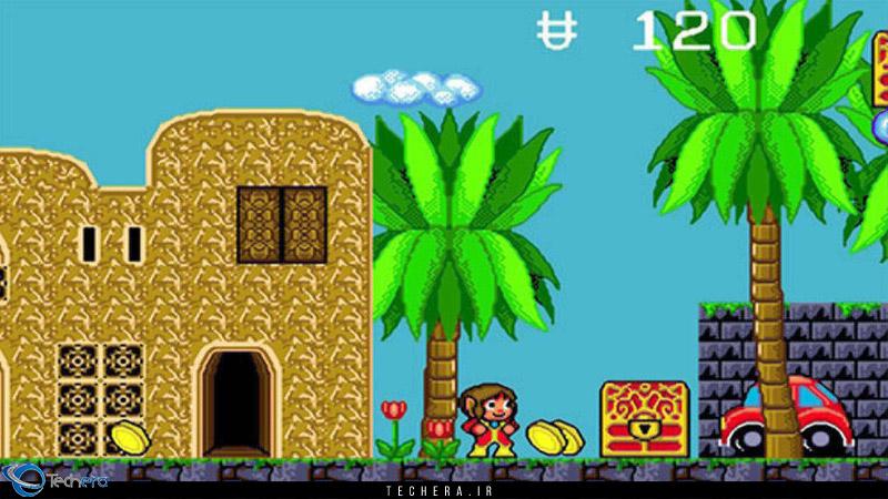 بازی سبک پلتفورمر Alex Kidd in The Enchanted Castle اولین بازی با قابلیت Side Scrolling