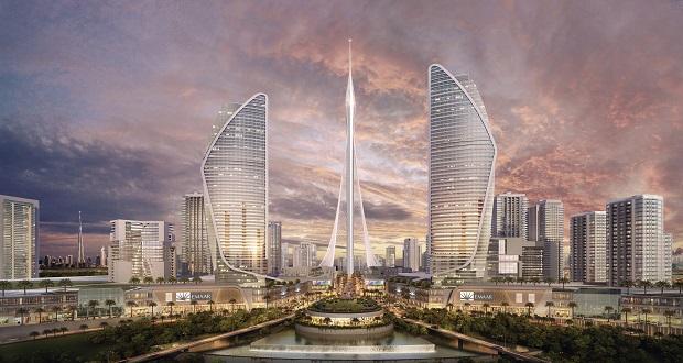 جزئیاتی از برج مشاهده بندرگاه دبی که توسط کالاتراوا طراحی شده، منتشر شد