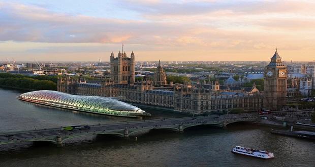 پارلمان شناور در رودخانه تیمز لندن؛ طرح شرکت گنسلر برای کاهش هزینه های بریتانیا