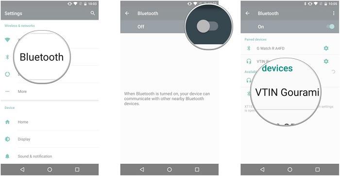 آموزش اتصال هدفون بلوتوث به گوشی اندرویدی