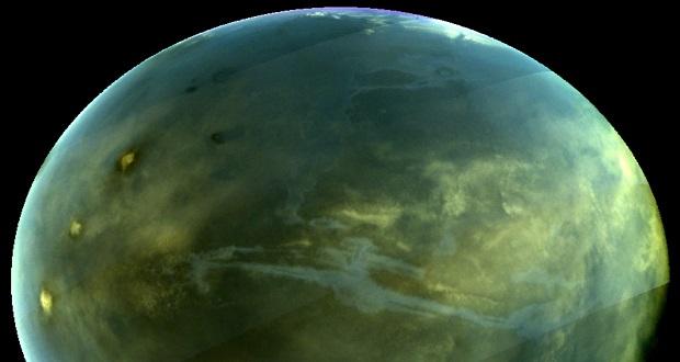 تصویربرداری ماوراء بنفش توانست نمایی از پدیده شب تاب مریخ را ثبت کند